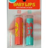 Amazon.com: Maybelline Limited Edition Baby Lips Duo Pack - Coral Crush, Twinkle: Beauty