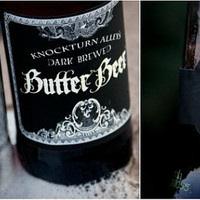 Butter Beer or Butterbeer Labels . Harry Potter Deathly Hallows Collection . by Loralee Lewis