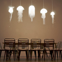 Jellyfish Lamps Shine Rather Than Sting | Incredible Things
