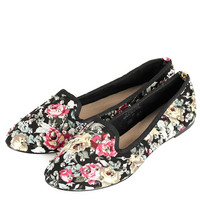 VECTRA5 Floral Stud Slippers - View All - Shoes - Topshop USA