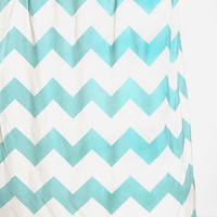 Urban Outfitters - Zigzag Shower Curtain