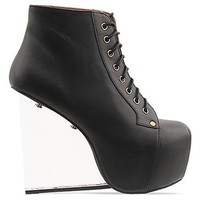Jeffrey Campbell Dina in Black at Solestruck.com
