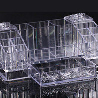 Acrylic Cosmetic organizer Display Box