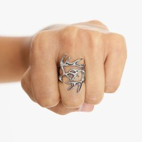 Antler Wrap Ring in  Accessories at Nasty Gal
