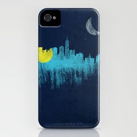 city that never sleeps iPhone Case | Print Shop