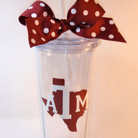 Texas A&M 20oz  Tumbler
