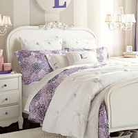 Lilac Flower Burst Bedroom