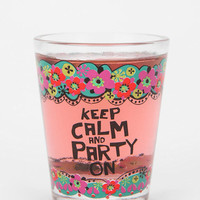 Natural Life Party On Shot Glass