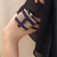 Flask Garter by GartersByLori