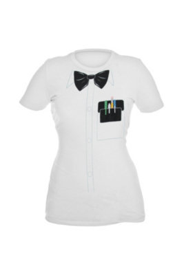 Nerd Costume Girls T-Shirt