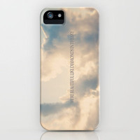 We're beautiful like diamonds in the sky iPhone Case by secretgardenphotography [Nicola] | Society6