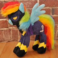Custom Pony Plush- Pegasus Pony