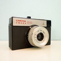 Soviet Vintage Lomo Camera SMENA 8M by EuroVintage on Etsy
