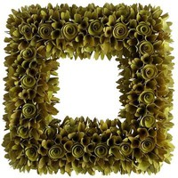 Wood Chip Wreath