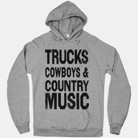 Trucks Cowboys County Music (Hoodie)