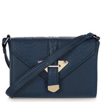 Snake Trim Boxy Bag