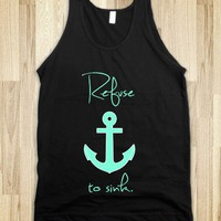 Refuse to sink Anchor Tiffany Mint - Awesome fun #$!!*&
