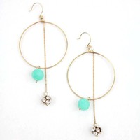Bella Drop Hoops - Buy From ShopDesignSpark.com