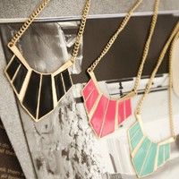 Rhombus ♡ Statement Necklace