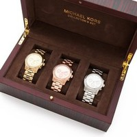 Michael Kors Runway Chronograph Watch Collector Box Set | SHOPBOP