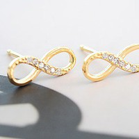 Cool Infinity Earrings  on Luulla