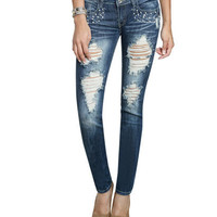 Stone Pearl Skinny Jean | Shop Jeans at Wet Seal