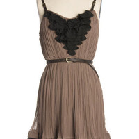 Truffle Ruffle Dress