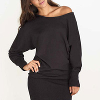 Megan Dolman Sweater Dress at Alloy