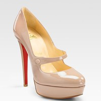 Christian Louboutin Relika Patent Mary Jane Pumps - $181
