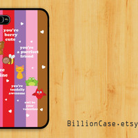 Five Animal of Love -  iPhone 5 4 / 4s Galaxy Case Hard Plastic Case Rubber Case