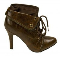 The Brownie Bootie | Indie Retro Vintage Inspired Boot Shoes | Poetrie