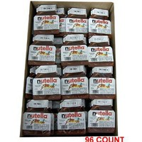 Nutella Hazelnut Chocolate Spread 96 Count: Amazon.com: Grocery & Gourmet Food