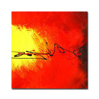Handmade Abstract painting (0192-YCF104138) - $48.34