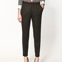 TROUSERS WITH TURN-UPS - Woman - New this week - ZARA United States