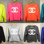 Colorful Chanel Sweatshirt