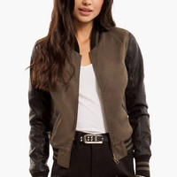 Upper Echelon Bomber Jacket $44