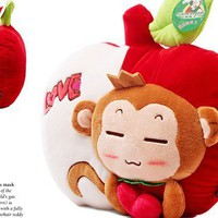 Monkey Plush Toy Cartoon Cushion Creative Gift  - EVToys.com