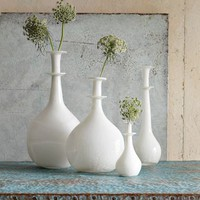 Shane Powers Opal Glass Vases | west elm