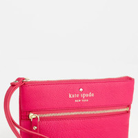 kate spade new york 'cobble hill - bee' wristlet