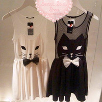 Sneaky Kitty Dress