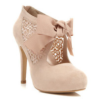 Sally Nude Town Shoe - View All  - Shoes