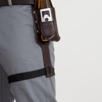 Beer holster with bottle opener at RedEnvelope.com