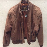 Leather Jacket Large