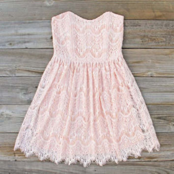 Sitting Pretty Lace Dress, Sweet Women's Party Dresses
