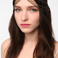 Multi-Strand Goddess Chain Headwrap