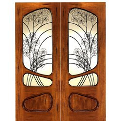 AN-2006 | Art Nouveau Doors | Entry Door