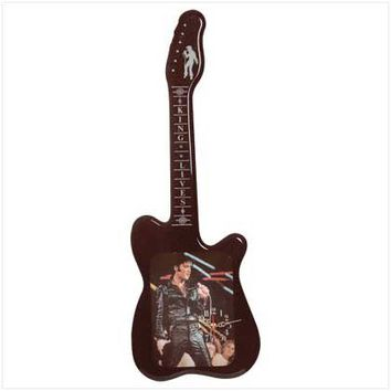 Elvis Guitar Clock from Jannie's LiveDeals