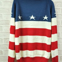 USA Stars & Stripes Sweater