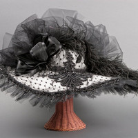 Handmade Victorian Hat / Old West Designed by by GussiedUpGal
