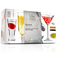 Cocktail R-EVOLUTION Molecular Mixology Kit | Molecular Cocktail Recipes Molecular Mixology Techniques - Buy at Drinkstuff